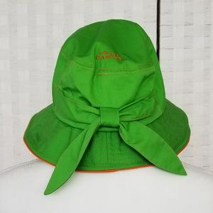 Louis Castel Yellow Green Bucket Hat